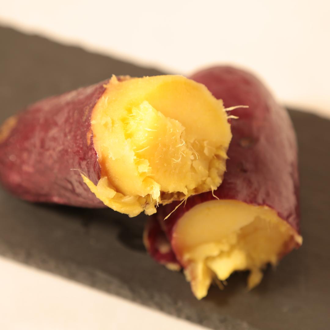 オーブンで簡単、仕込み1分「100分放置するだけ、絶品焼き芋」