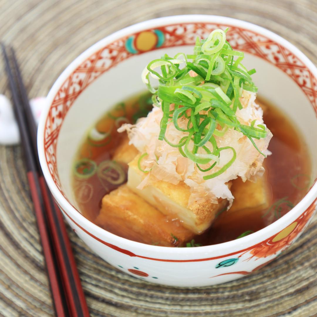 トースターとレンジで簡単、15分で完成「厚揚げだし豆腐」@ズボラ飯