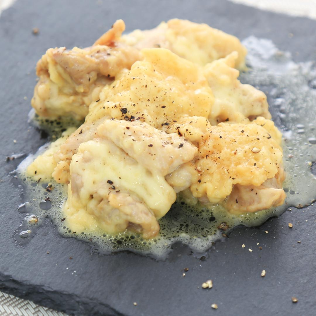 レンジで簡単、10分で完成「鶏肉のマヨチーズ焼き」@ズボラ飯