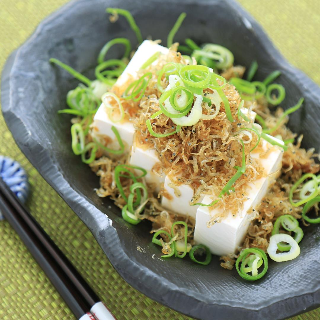 レンジで簡単、3分で完成「ダイエットじゃこ豆腐」@ズボラ飯