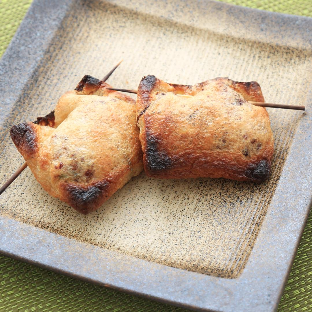 トースターで簡単、12分で完成「油揚げの納豆包み」@ズボラ飯