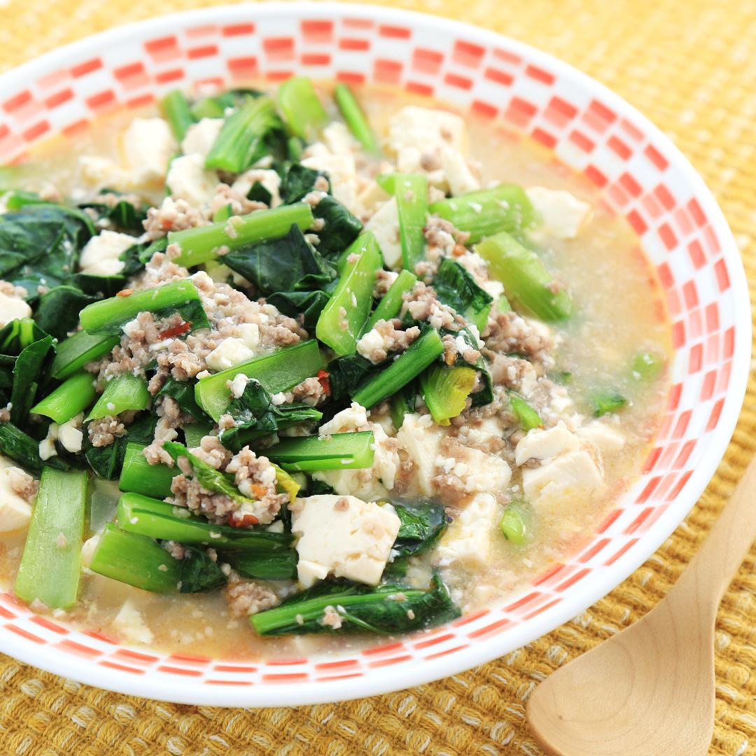 電子レンジで簡単、10分で完成「塩麹de麻婆豆腐」@ズボラ飯