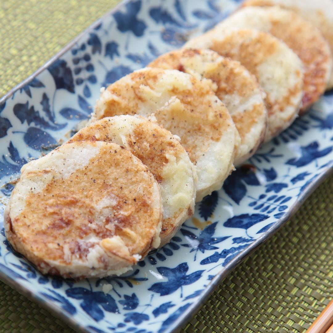 トースターで簡単、15分で完成「長芋フライ」@ズボラ飯